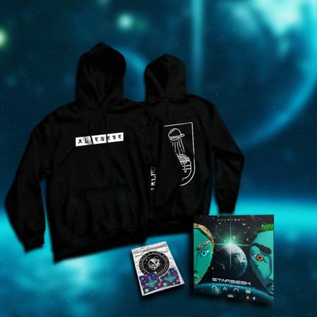 """Pack hanorac + album + stickere """"ALIENESE"""""""