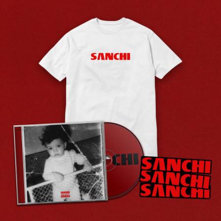 "Pack tricou + album + sticker ""SANCHI"""