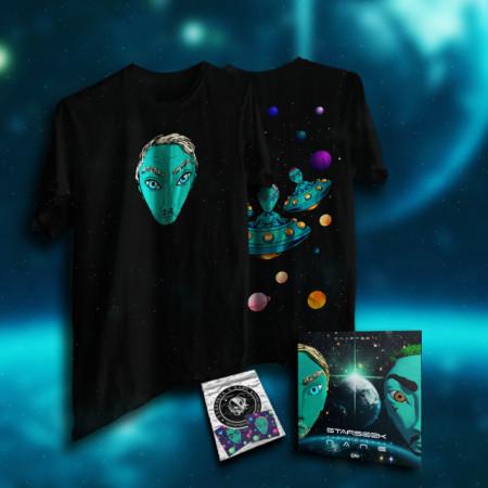 """Pack tricou + album + stickere """"STARSEEK"""""""