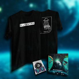 "Pack tricou + album + stickere ""ALIENESE"""