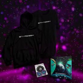 Pack hanorac + tricou + album + stickere