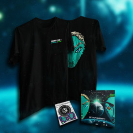 "Pack tricou + album + stickere ""STARSEEK - CHAPTER 1"""