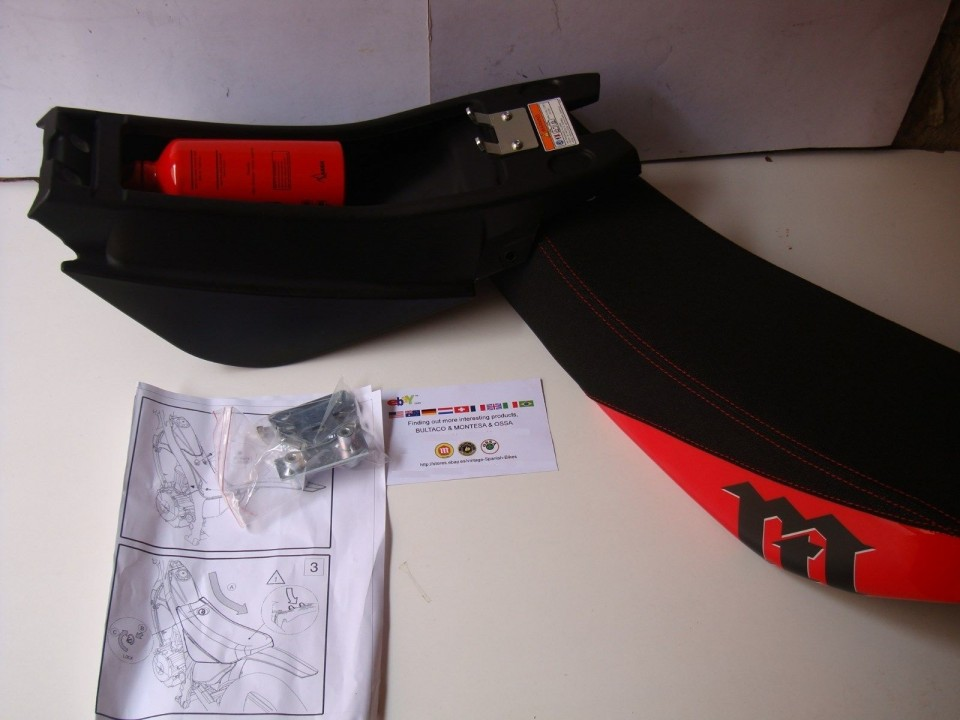 montesa rt seat tool box  model