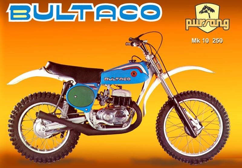 BULTACO PURSANG MK10 EXHAUST BULTACO PURSANG 192 EXHAUST BULTACO PURSANG  250 EXHAUST PURSANG 192