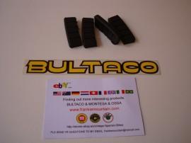 BULTACO ANTIVIBRATION CYLINDER KIT SILENBLOCK NEW ALL BULTACO'S 4 UNITS imágenes
