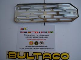 BULTACO GUARD EXHAUST GRILLE CHROME NEW imágenes