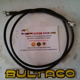 BULTACO SHERPA CABLE SPEEDOMETER REAR WHEEL NEW imágenes