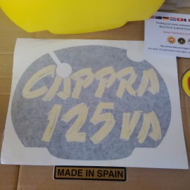 MONTESA CAPPRA 125 VA FRONT NUMBER PLATE + DECAL imágenes