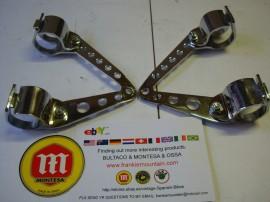 MONTESA TEXAS NEW SET BRACKETS HEADLIGHT MONTESA SCORPION imágenes