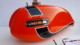 OSSA ENDURO 72 GAS TANK NEW OSSA ENDURO E72 GAS TANK NEW OSSA ENDURO imágenes