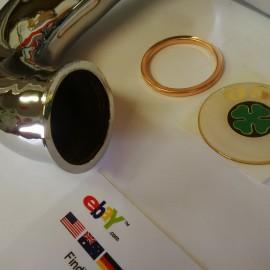 OSSA MICK ANDREWS EXHAUST PIPE CHROME NEW OSSA MAR EXHAUST 250cc imágenes