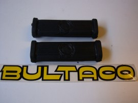 BULTACO METRALLA MK2 RUBBER FOOT PEGS KIT 4 UNITS imágenes