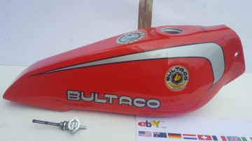 BULTACO SHERPA 158 PETROL TANK  NEW BULTACO SHERPA T GAS TANK  NEW imágenes