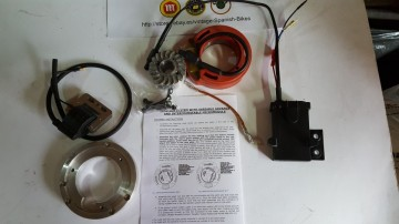 MONTESA CAPPRA Electronic Ignition With Lighting Coil for twinshock models MONTESA CAPPRA IGNITION ELECTRONIC IGNITION. imágenes
