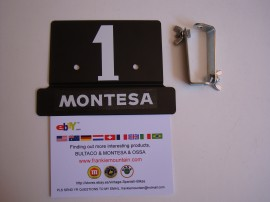 MONTESA COTA 25 FRONT NUMBER PLATE NEW imágenes