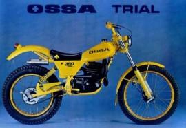 OSSA TR 80 GAS TANK NEW OSSA TR 80 BODY KIT NEW OSSA 350 TRIAL GAS TANK imágenes