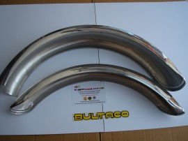 BULTACO SHERPA FENDERS SET FRONT AND REAR NEW imágenes