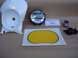 MONTESA ENDURO H6 - H7  HEADLIGHT  FULL KIT PARTS NEW imágenes