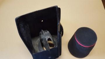 OSSA PHANTOM AIR BOX KIT AS76 NEW SPECIAL AIR BOX KIT  OSSA PHANTOM AS77  AIR FILTER imágenes