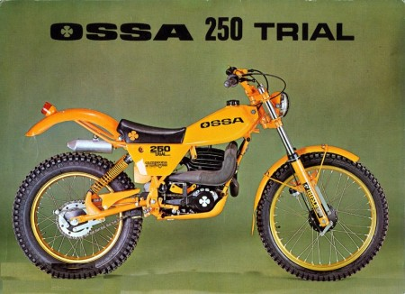 OSSA TR 80 SIDE STAND OSSA TR 80 OSSA TRIAL OSSA 250 TRIAL TR ORANGE SIDE STAND imágenes