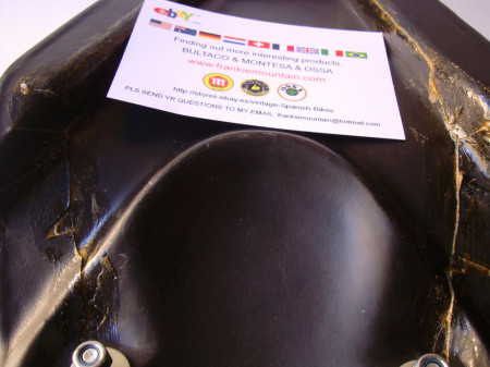 BULTACO EL BANDIDO NEW SEAT BULTACO EL BANDIDO MODEL 65 imágenes