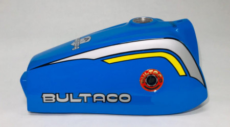 BULTACO PURSANG MK11 370 GAS TANK NEW PURSANG 207 PETROL TANK NEW imágenes