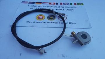 BULTACO SHERPA 49 SPEEDO PARTS BULTACO SHERPA T 49 SPEEDO CABLE + DRIVE imágenes