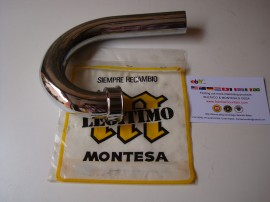MONTESA COTA 247 MK1 MK2 FRONT EXHAUST PIPE imágenes