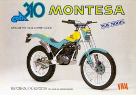 MONTESA COTA 310 SHOCK ABSORVER BETOR NEW MONO-SCHOCK imágenes
