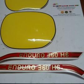 MONTESA ENDURO 360 H6 KIT DECALS FULL BIKE NEW imágenes