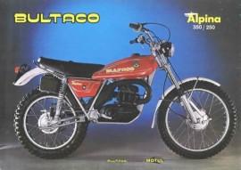 BULTACO ALPINA KIT DECALS FULL BIKE MODEL 213 imágenes