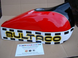 BULTACO ASTRO BODY KIT FULL PARTS imágenes
