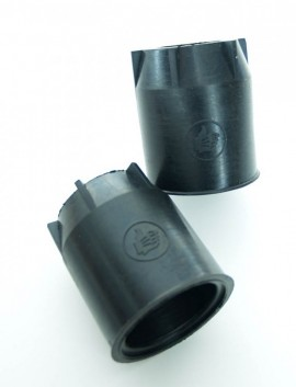 BULTACO LOBITO FORK DUST COVERS 35MM LATE TYPE NEW imágenes