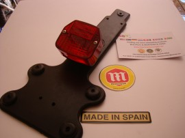 MONTESA COTA 330 NEW TAILLIGHT LICENSE SUPPORT imágenes