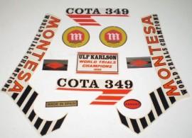 MONTESA COTA 349 mk2 NEW KIT DECALS imágenes