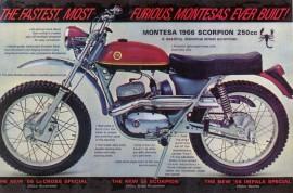 MONTESA TEXAS NEW EXHAUST MUFFLER MONTESA SCORPION imágenes