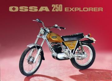 OSSA EXPLORER SEAT COVER NEW SEAT COVER OSSA EXPLORER imágenes