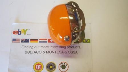OSSA HEADLIGHT NEW OSSA TR 250 FRONT LIGHT NEW HEADLIGHT OSSA TR 250 OSSA YELLOW HEADLIGHT imágenes