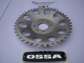 OSSA MAR REAR SPROCKET 46T OSSA MICK ANDREWS REAR SPROCKET 46T NEW OSSA imágenes