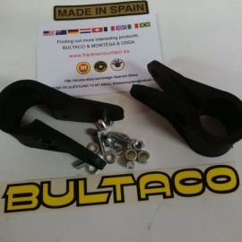 BULTACO ALPINA RUBBER BRACKETS HEADLIGHT NEW imágenes