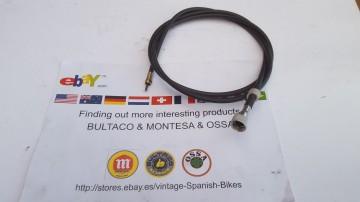BULTACO CABLE SPEEDOMETER REAR WHEEL BULTACO SHERPA CABLE SPEEDOMETER imágenes