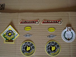 BULTACO METRALLA MK2 KIT DECALS FULL BIKE NEW imágenes