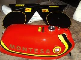 MONTESA CAPPRA 125 VB KIT GAS TANK + SIDE PANELS imágenes