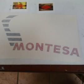 MONTESA COTA 123 KIT DECALS FULL BIKE NEW imágenes