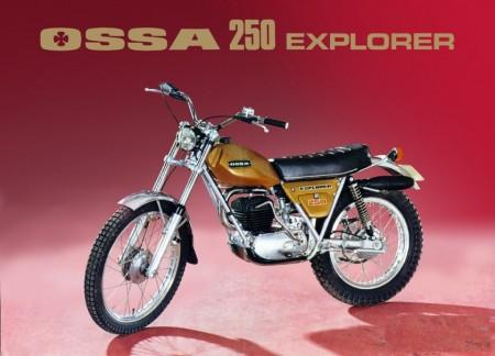 NEW OSSA EXPLORER KIT DECALS OSSA EXPLORER 250cc DECALS FULL BIKE imágenes
