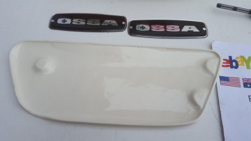 OSSA MICK ANDREWS 350cc GAS TANK + SIDE PANELS NEW OSSA MAR BODY KIT GAS TANK + SIDE PANELS OSSA MICK ANDREWS 350cc imágenes