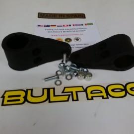 BULTACO ALPINA RUBBER BRACKETS HEADLIGHT NEW imágenes