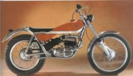 BULTACO SHERPA T 250 MODEL 80 FULL KIT EXHAUST NEW KIT CAMPEON imágenes