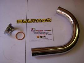 BULTACO TRALLA PIPE EXHAUST + NUT CYLINDER TRALLA 101-102