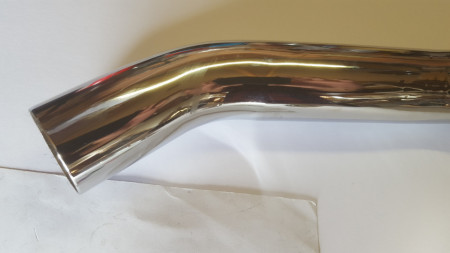 EXHAUST PIPE BULTAC0 SHERPA KIT CAMPEON BULTACO SHERPA EXHAUST PIPE imágenes